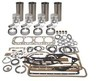photo of 120 CID 4 cylinder gas 3-3\16 inch standard bore. Basic Engine Kit contains, thin wall .040 inch sleeves, 4 ring pistons, rings, pins and retainers, pin bushings, complete gasket kit. Bearings NOT included and must be ordered separately. For 8N, 9N, 2N.
