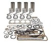 photo of 134 CID 4 cylinder gas 3-7\16 inch standard bore. Kit contains, sleeves, pistons, rings, pins & retainers, pin bushings, complete gasket kit. Bearings are available, must be ordered separately. For tractor models 2000, 501, 600, 601, 700, 701.