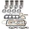 photo of For tractor models 65, 165 (G176 Continental Gas).Kit contains sleeves, Stepped head pistons, rings, pins & retainers, standard bore 3-37\64). Pin Bushings. Complete Gasket Set. Engine Bearings must be ordered separately.