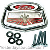 photo of This new Emblem is used on 1962-1964 Ford 6000 Commander as a front grill or steering wheel Emblem. Replaces: C0NN16600A, C5NN3A515A. Includes mounting hardware.