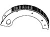 Ford 2000 Brake Shoe with Lining