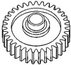 Ford 3000 Gear, Reverse Idler, 8 Speed Transmission