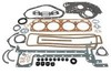 photo of 6 Holes in valve cover gasket. Kit also contains front lip type and rear rope type seals. For Major and Super Major Diesel 1618653 and up, 4-1957 to 8-1961. Overhaul Gasket Kit.