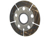 photo of Used in late production, this disc has a 1-9\32 wide facing. This disc is 8.070 inches outside diameter, 2.086 inches inside diameter with 22 splines. Replaces Ford part numbers 86529646, E9NN2N097AA, 83983209, E9NN2A097AA