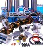 photo of Comprehensive Kit AD3-152  S  3 Cylinder DIESEL, 4 Ring Pistons, 3.6 inch bore MF148, MF235, MF245 from engine number 152UA391046DLS, MF250, MF550, MF154, MF254 (Landini). Including New Crankshaft- Kit Includes pistons, wrist pin bushings, piston rings, liners, con rod bearings, con rod lock nuts (where fitted), top and bottom gasket sets, main bearings, thrust washers, front and rear seals AND A NEW CRANKSHAFT. NOTE: BLOCKS are available for this engine - see part number ZZ50283.
