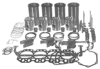 photo of Overhaul Kit. For Super H and HV, Super W4 (C162 CID 4-cylinder Gas). (Stepped head pistons, valve length 5-15\32 inch). Contains Sleeve and Piston Kit (sleeves, pistons and rings, pins and retainers, overbore from 3-1\2 inch to 3-9\16 inch). Piston Pin Bushings. Complete Gasket Set. Connecting Rod Bearing Kit. Main Bearing Kit. Valve Parts (intake and exhaust valves, springs, guides and keys). Available with standard, .010 or .020 bearings. IMPORTANT: Specify Rod and Main Bearing sizes, and the part numbers on your old intake and exhaust valves to ensure that correct replacements are sent.