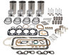 photo of Engine Overhaul Kit. For 65, 165 (G176 Continental Gas). Contains Sleeve and Piston Kit (sleeves, pistons, rings, pins and retainers, standard bore 3-37\64 inch). Pin Bushings. Complete Gasket Set. Connecting Rod Bearing Kit. Main Bearing Kit. Intake and Exhaust Valves (plus guides, locks and springs). Valve Stem Seal. Available with standard, .010 or .020 bearings.