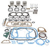 photo of Engine Overhaul Kit, 201 CID 3 Cylinder Diesel. Contains .030 inch pistons, rings, complete gasket kit, pin bushings, cam bearings, intake and exhaust valves, springs, valve keys. For tractor models (4000 6\1969-1975), (4600 1975-1981).