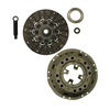 photo of This Clutch Kit contains 11 inch 15 spline spring drive disc E8NN7550AA, 11 inch single pressure plate C9NN7563D, pilot bearing C5NN7600A and release bearing 83914247, includes pilot tool. Used on some Ford tractors   1965 and later.