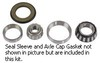 photo of Wheel bearing kit. For 1020, 1520, 2030, 2440, 2510, 2520, 2630, 2640, 3010, 3020, 4000, 4010, 4020, 4030, 4040, 4230, 4430. Kit Contains: 25521(Cup), 25577(Cone), M88010(Cup), M88048(Cone), AR26480(Seal), R26632(Seal Retainer), A1556R(Axle Cap Gskt). Repairs one wheel.