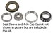 4020 Front Wheel Bearing Kit