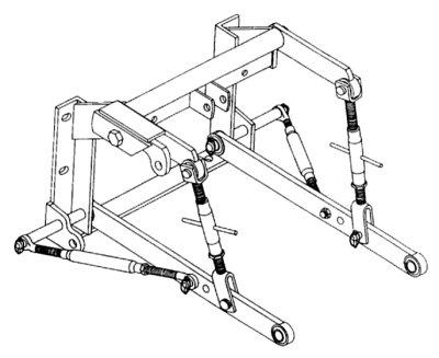 Farmall 560 3 Point Conversion Kit