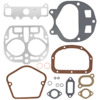 photo of This Head Gasket Set for John Deere H includes lead washers and all the gaskets shown.