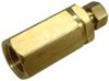 photo of Oil Gauge fittings may be different even for the same models. Here is an Oil Line Adapter if you have a gauge line without removable fittings, this converts 1\8 inch pipe thread to 1\4 inch tube. Brass.