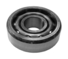 photo of This Fan Shaft Bearing measures; 0.750 Inch Inside Diameter, 2.080 Inch Outside Diameter, 0.609 Inch wide outer race. All metal construction. Can be used as a governor shaft, fan shaft and ventilator pump bearing assembly. Two used for each application. Priced and sold individually. Also used on automotive applications, replacing New Departure number: ND 909001. Replaces: JD7654, JD7654R, JD7655, JD7655R, JD7656, JD7656R, JD7657, JD7657R, B01