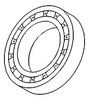 photo of This transmission bearing is used in 4 and 5 Speed Transmissions. For tractor models 2000, 4000, 600, 800, 900.