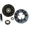 photo of Kit contains 181114M91 drive disc 9 inch outside diameter with 1 1\8 inch 10 spline hub, 183209M91 9 inch single pressure plate, 832960M3 pilot bearing, release bearing 833085M2 (Note: This Release Bearing is 2.49 inches I.D., 4.10 inches O.D., .875 inches wide, 1.535 inches front to back.), and 10 spline x 1 1\8 inch pilot tool.