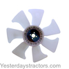 photo of This Plastic fan has a metal hub. The outside diameter is 14.125 inches (358.77mm). It is used on Compact Tractor Models: 1070, 3032E, 3036E, 3038E, 4005, 955, 970 and 990. Also used on 1420 Riding Mower, 1435 Riding Mower, 1445 Riding Mower, 1545 Riding Mower, 1550 Riding Mower, 1565 Riding Mower, 1570 Riding Mower, 1575 Riding Mower, 1580 Riding Mower, 1585 Riding Mower, 3510 Cane Harvester, 3520 Cane Harvester, 3522 Cane Harvester, 997 ZTrak Mower, CH570 Cane Harvester, CH670 Cane Harvester, Z997R Riding Mower. Replaces OEM number M805013