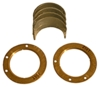 photo of This Main Bearing Set is complete with Thrust Bearings for G with Continental N-62. Main Bearing Set for 1 engine. Available in Std, .010, .020, .030 please tell us what size you want in the comments section.