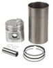 photo of This Sleeve and Piston Kit is for 134 CID Gas engine. 3-1\2 inch overbore for increased power, authothermic pistons, chrome top rings, chrome steel segment oil rings. For 2000, 501, 600, 601, 700, 701, NAA.