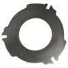 photo of Manufactured to OEM specifications, this new Transmission and PTO Clutch Plate is used on John Deere models: 4030, 4040, 4040S, 4050, 4055, 4230, 4240, 4240S, 4250, 4255, 4350, 4430, 4440, 4450, 4455. It measures 6 15\16 inches (176mm) inside diameter, 14 1\4 inches (362mm) outside diameter including 6 tabs, 12.140 inches outside diameter without the tabs. Replaces John Deere part numbers R112385, R544016, R62285, R53789, R59688, R62285