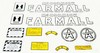 Farmall Super A Decal Set