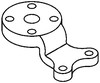 John Deere 3010 Steering Arm, Center