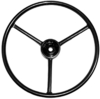 photo of For Late 140, 240, Farmall 300 (not utility), 340, 350, 400, 404, 424, 444, 450, 460, 560, 4100, 4166, 4186. Steering Wheel 18 inch diameter, 7\8 inch 36 splined hub. Replaces OEM part number 366557R1, 366557R2, 366557R91.