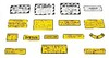 photo of For tractor models 400, 450 Diesel. Complete Decal Set.