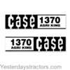 photo of For 1370. Complete Decal Set.