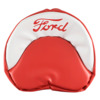 Ford Jubilee Seat Cushion (Red and White)