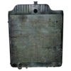 photo of Radiator for AC 7030, 7040, 7045, 7050, 7060. Measres 24 5\8 inches wide, 26 1\4 inches tall and 3 inches depth. With Oil cooler and mounting tabs on grill side. This radiator uses cap number R1811. Radiator replaces OEM numbers 70267976, 70269240, 70267979.