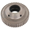 photo of Made to OEM Specifications, this New PTO Clutch Hub replaces John Deere part numbers R50123 and R56854. 35 internal teeth, 48 external teeth. It is used on John Deere models; 4030, 4040 (Quad and Syncro Range Transmission), 4040S, 4050 (Quad Range Transmission), 4055 (Quad Range Transmission), 4230 (Quad and Syncro Range Transmission), 4240 (Quad and Syncro Range Transmission), 4240S, 4250 (Quad Range Transmission), 4255 (Quad Range Transmission), 4350, 4430, 4440 (Quad and Syncro Range Transmission), 4450 (Quad Range Transmission), 4455 (Mexico), 4455 (Quad Range Transmission)