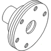 photo of For JD103, 1020, 820, 830, 2240. Crankshaft Pulley replaces T24441, T25366. 1.5  I.D., 2.750  Center to Center on Holes.