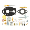 photo of Comprehensive Carburetor Kit For Marvel-Schebler: TSX593, TSX706, OEM Carb #: EAF9510G, EAF9510D . Contains all parts shown. For tractor models 800 and 900.