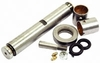 photo of Spindle repair kit less spindle with unfinished bushings Contains (2) TDBA3110A bushings (Unfinished), (2) 87414 grease fittings, (1) D8NN3115BA 1.13 inch diameter pin, (1) C7NN3123A thrust bearing, (2) TDBA3125A seals, (1) 81T3122 spindle pin locking pin, (1) 81547 lock washer and (1) 50456 nut. Replaces DEPN3115A.