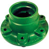 photo of This wheel hub fits the following John Deere tractor models: 210C, 300, 300B, 300D, 301, 302, 302A, 310, 380, 400, 401, 401B, 401C, 480, 480A, 480B, 1020, 1520, and 1640. Replaces the part number T21545. Uses wheel bolt WB916 and hub cap A1555R.