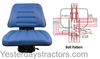 photo of This is a complete seat assembly. It is used on the following, 8\1992 and later without cabs: 345C, 345D, 445C, 445D, 545C, 545D, 250C, 260C, 3230, 3430, 3930, 3930N, 3930NO, 4130, 4130N, 4130NO, 4630, 4630N, 4630NO, 4630O, 4830, 4830N, 4830O, 5030, 5030O. Armrests are available as part number R22BL. Additional $20.00 shipping due to weight. IF ORDERING ON-LINE, THIS ADDITIONAL CHARGE WILL BE ADDED TO YOUR ORDER AFTER YOUR RECEIPT IS PRINTED. Replaces E9NN400AB99M, E9NN400AA, 86605775