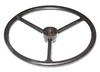 photo of Steering wheel, 16 1\2 diameter, 7\8  splined hub, 3-1\2 dished, smooth finish. Tractors: 820 Germany, 830 Germany, 2040 to serial number 349999, 2240 to serial number to 349999, 2520, 2630, 2640, 3020 serial number 123000 & up, 4000, 4020 serial number 201000 & up, 4030, 4040, 4230, 4240, 4430, For 2040, 2240, 2520, 2630, 2640, 3020, 4000, 4020, 4030, 4040, 4230, 4240, 4430, 4440, 4630, 4640, 4840, 820, 830, 8430, 8440, 8630, 8640, 9400, 9500, 9600