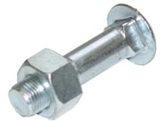 HB250 Rear Rim Carriage Head Bolt and Nut HB250