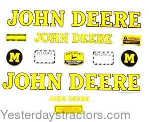 FREE SHIPPING NEW John Deere Model M  Tractor Decal Set
