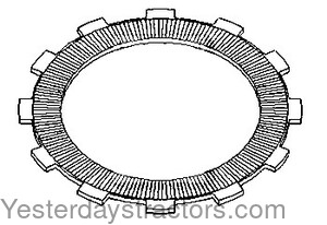 Oliver 1900 PTO Clutch Plate 105650A