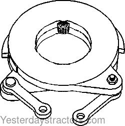 Oliver White 4 150 Brake Actuating Disc 105725AS