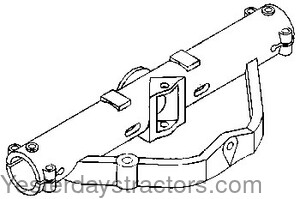 Support Assembly besides Ih 1486 Wiring Diagram furthermore 1086 Ih Cab Wiring Diagram furthermore International Cub Cadet Wiring Diagram in addition Raypak Rp2100 Heater Touch Pad Cover 009184f. on international 766 wiring diagram