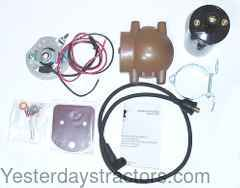 ford 8n side mount distributor wiring diagram 8n ford pertronix ignitor wiring diagram ford electronic ignition conversion kit -12v negative ground for ford 8n,9n,2n - 1247xt