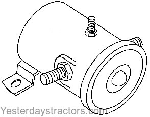 tractor electrical system parts yesterday s tractors 1953 Ford Tractor Hydraulic Adjustment