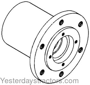 Oliver White 2 62 Front Wheel Hub 155192A