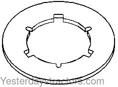 Oliver 1850_PTO Clutch Plate Driven_159097A