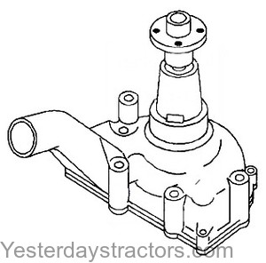 Oliver Super 88 Water Pump 162899AS