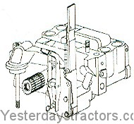 Massey Ferguson 245 Hydraulic Lift Pump 1683301M92